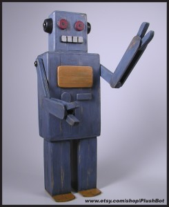 Popsicle Stick Robot #1