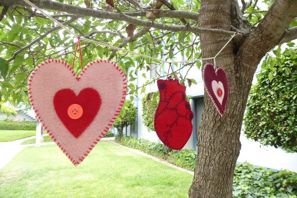 Heart Wall Banner