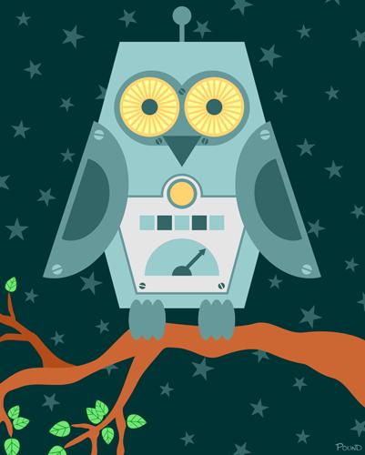 Owl Robot