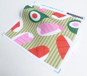 Sushi Fabric