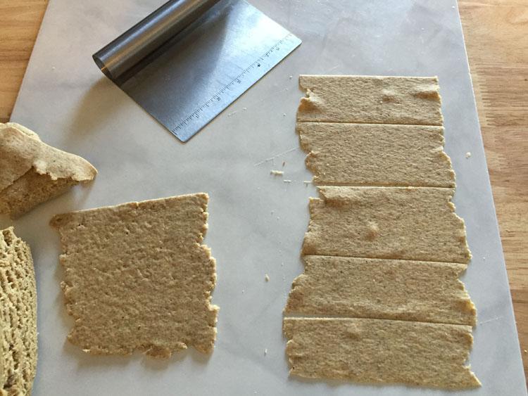 Rye Cracker Dough