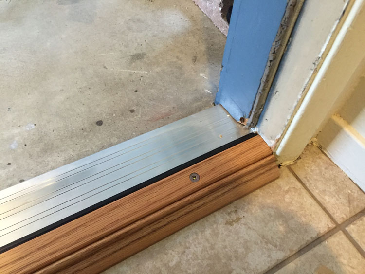 Laminate Door Threshold Amp Save